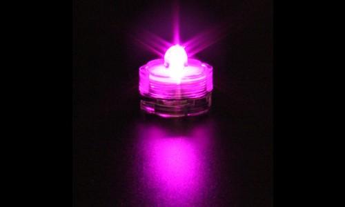 Bougie à LED SUBMERSIBLE lumière POURPRE